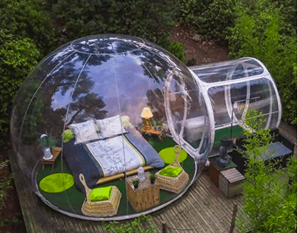 ZXMOTO Inflatable Bubble Glamping Tent
