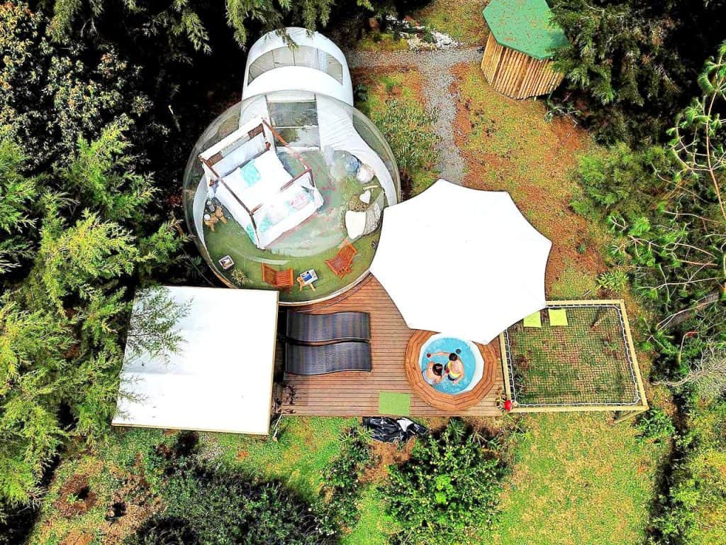 bubble dome tent