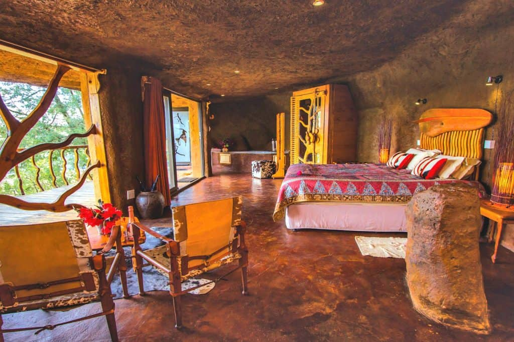 glamping cave