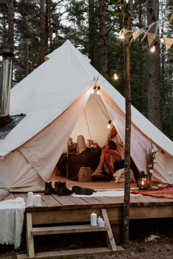 about glamping space