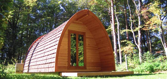 Glamping Pods in Camping Martsbuch, Luxembourg