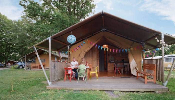 Safari Tents in Camping Fuussekaul, Luxembourg