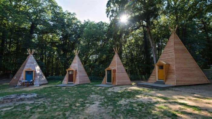 Glamping Tipis in Beaufort, Luxembourg