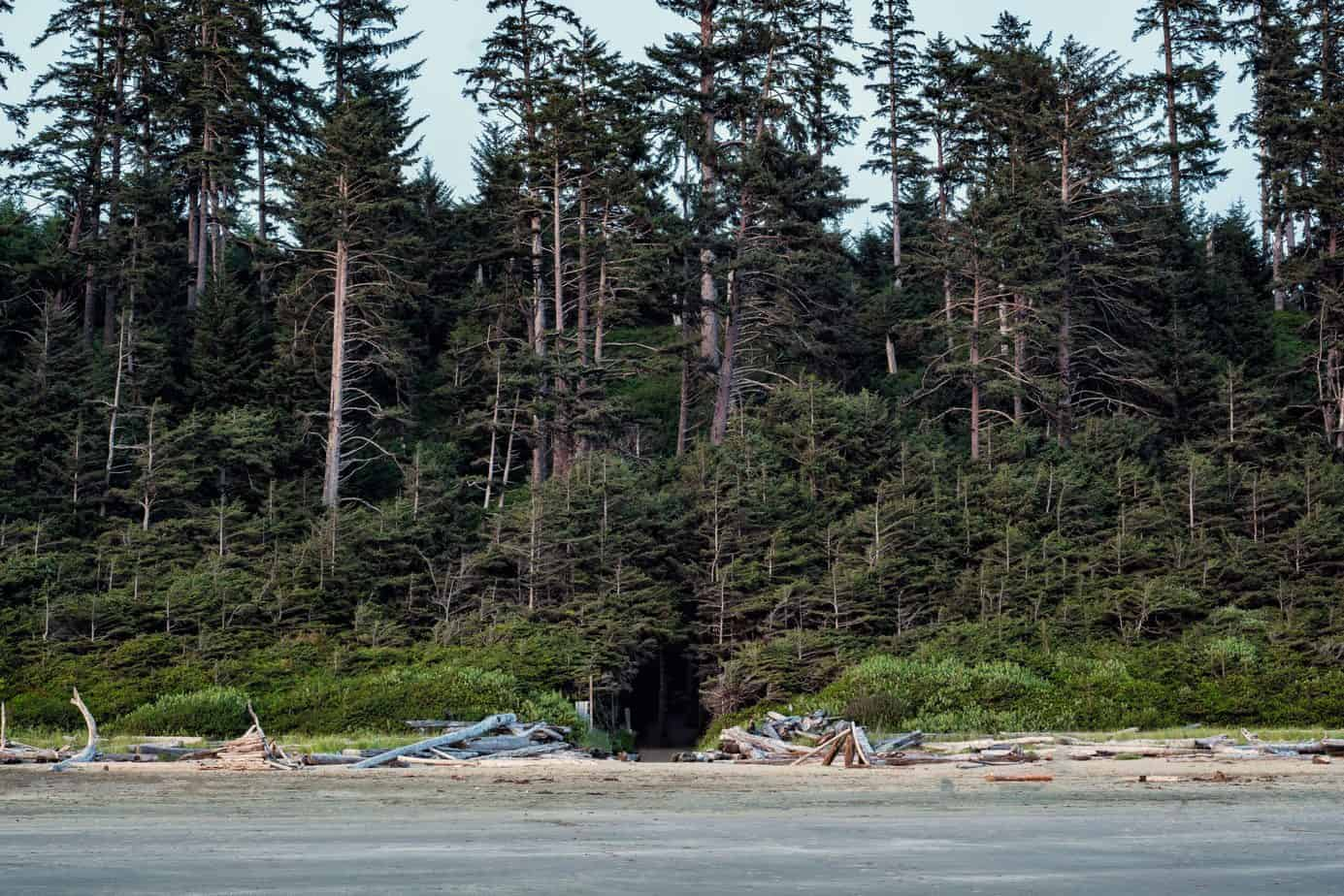 vancouver island glamping