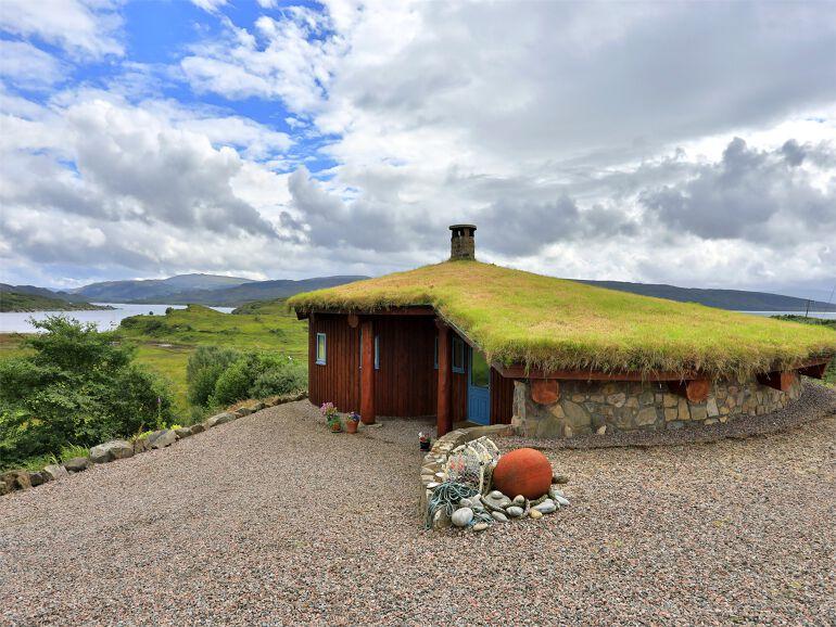 glamping Scottish highlands