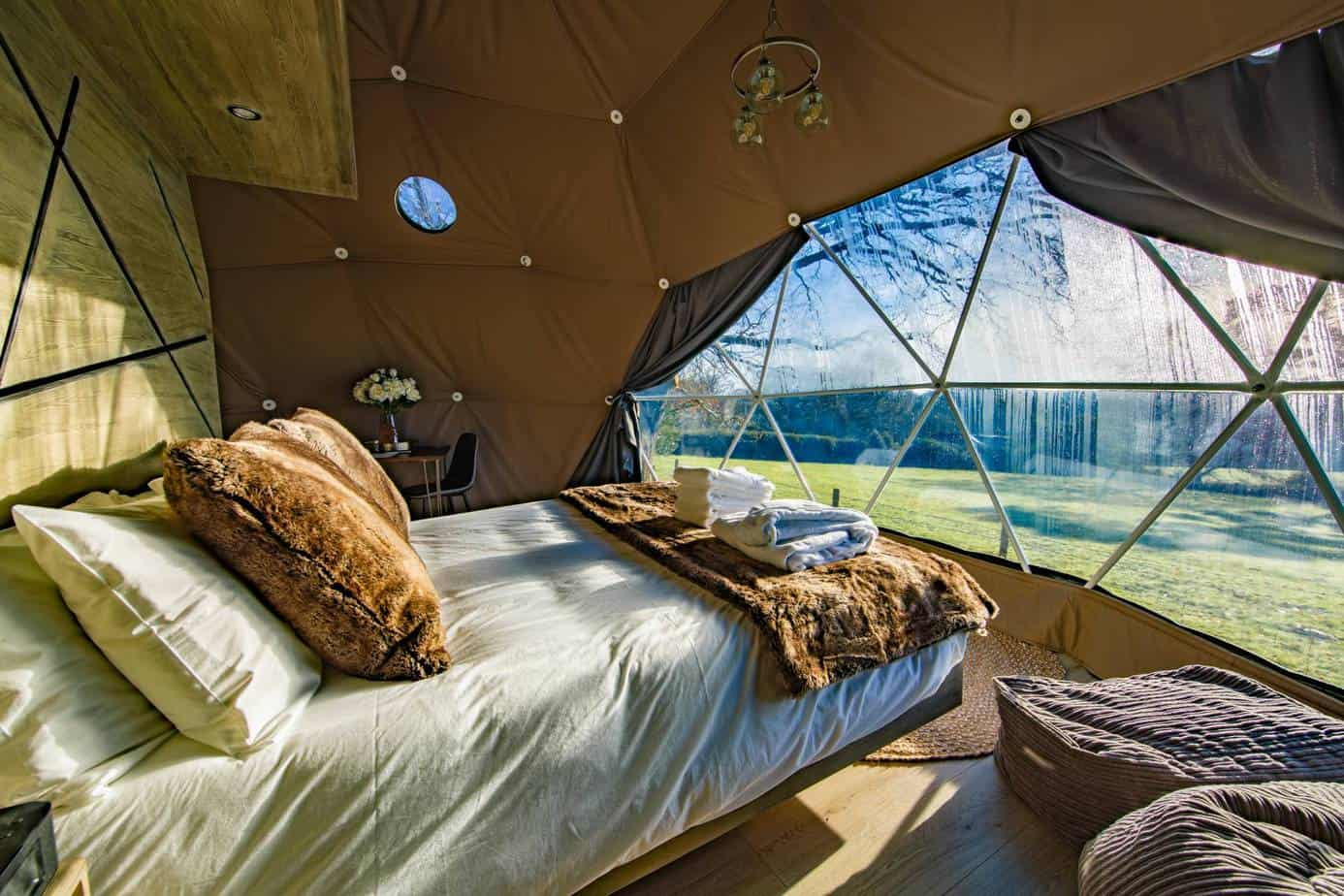 glamping kent and sussex